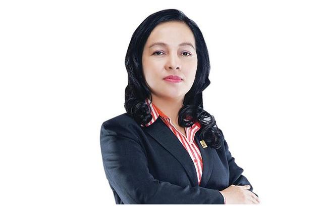 Sau 15 năm công tác tại Sacombank, bà Nguyễn Đức Thạch Diễm trở thành người điều hành ngân hàng.