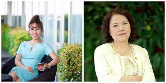 Hai nữ tướng của Vietjet - bà Nguyễn Thị Phương Thảo (Tổng giám đốc) và bà Nguyễn Thanh Hà (chủ tịch HĐQT)