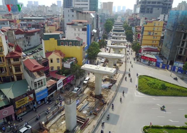 Hiện trạng dự án trên tuyến đường Xuân Thủy - Cầu Giấy.