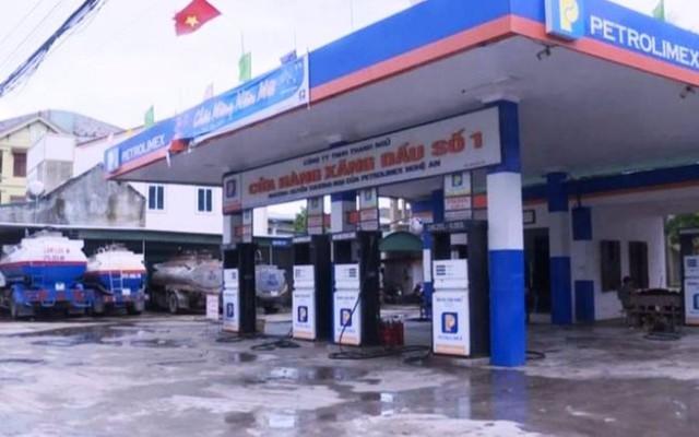 Cửa hàng xăng dầu thuộc Công ty TNHH Thanh Ngũ.