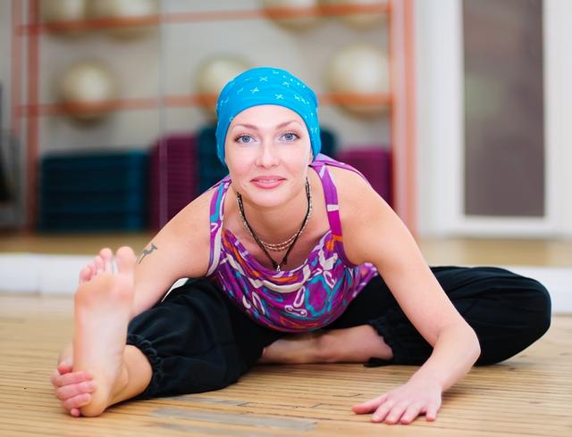 Yoga là một cách giúp tôi đối phó với cuộc sống, vượt qua nỗi lo lắng, sợ hãi để chiến đấu với bệnh tật. (Ảnh minh họa)