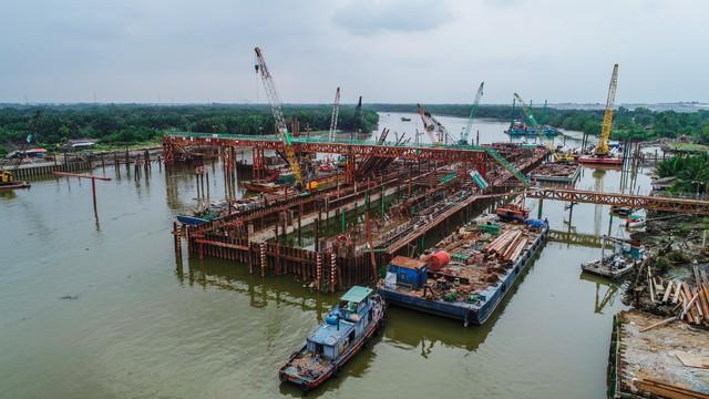 Những hình ảnh mới nhất của dự án chống ngập do triều 10.000 tỷ đồng ở TP.HCM - Ảnh 10.