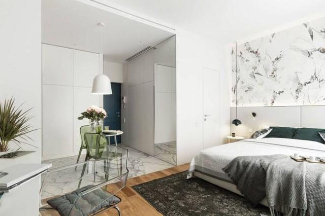 Mách bạn thông tin về giấy dán tường giá rẻ nhất TPHCM Sống sung túc, tiện nghi trong căn hộ chỉ 27m2 - Ảnh 2.