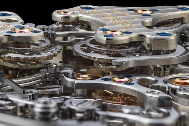 Chiêm ngưỡng siêu đồng hồ có chức năng bấm giờ độc lập đặc biệt nhất trên thế giới - giới hạn 100 chiếc và giá tới 147.000 USD - Ảnh 4.