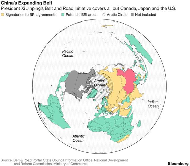 Vành đai, con đường đến Bắc Cực, Trung Quốc chính thức ôm trọn địa cầu - Ảnh 1.