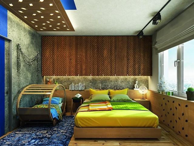 Ý tưởng sáng tạo với trần gỗ - Ảnh 8.