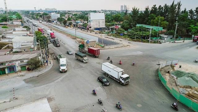 Cận cảnh dự án hầm chui lớn nhất TP.HCM sắp thông xe, thông điểm đen kẹt xe khu cảng Cát Lái - Ảnh 4.
