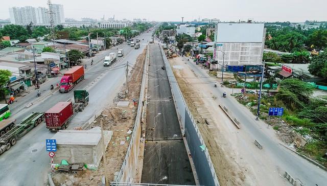 Cận cảnh dự án hầm chui lớn nhất TP.HCM sắp thông xe, thông điểm đen kẹt xe khu cảng Cát Lái - Ảnh 5.