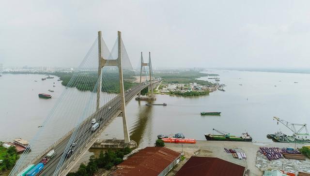 Cận cảnh dự án hầm chui lớn nhất TP.HCM sắp thông xe, thông điểm đen kẹt xe khu cảng Cát Lái - Ảnh 9.