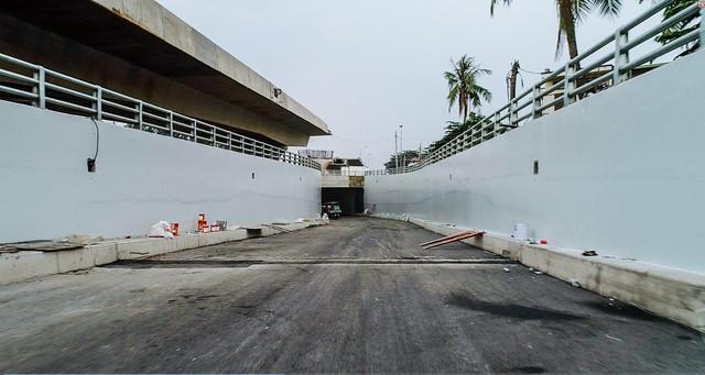 Cận cảnh dự án hầm chui lớn nhất TP.HCM sắp thông xe, thông điểm đen kẹt xe khu cảng Cát Lái - Ảnh 13.
