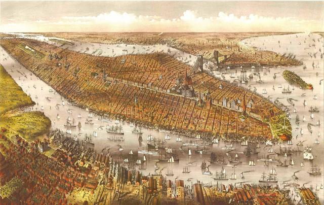 Những hình ảnh khó tin về New York trước khi lột xác thành siêu đô thị - Ảnh 11.