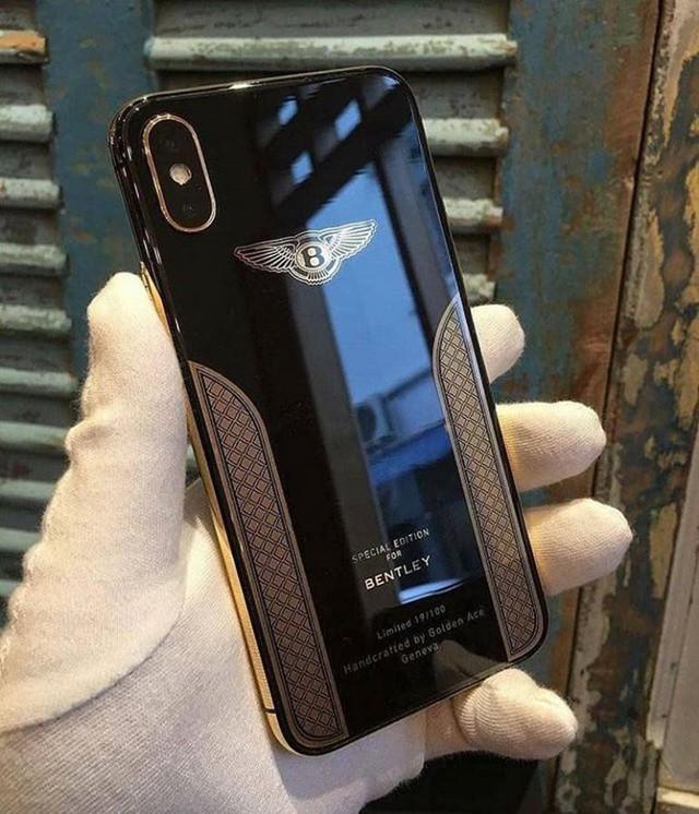 """Apple bắt tay cùng Bentley cho ra chiếc điện thoại mạ vàng 18K khiến ai cũng """"thèm muốn"""" - Ảnh 1."""