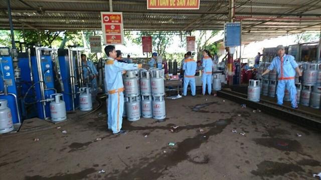 Giá gas đồng loạt giảm mạnh 20.000 đồng/bình - Ảnh 1.
