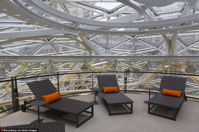 Bên trong văn phòng hình cầu pha lê 4 tỷ USD của Amazon - Ảnh 14.
