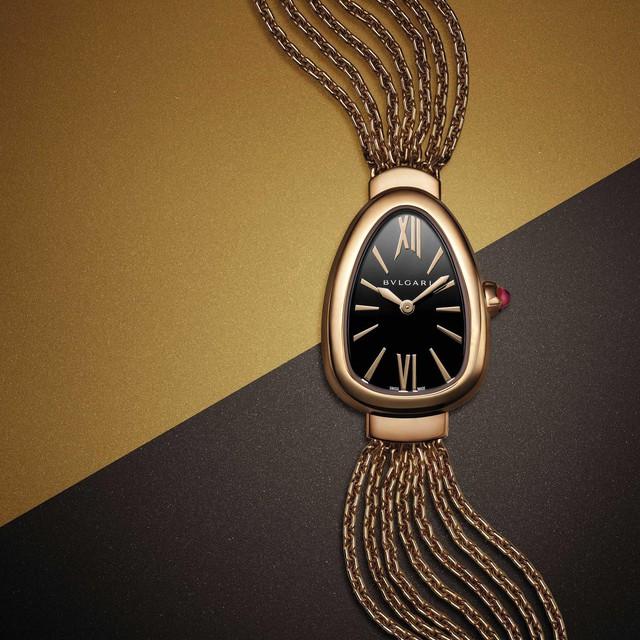 """Bulgari tiếp tục tung ra những phiên bản mới cho mẫu đồng hồ Serpenti, chứng minh khả năng """"biến hóa"""" không tưởng của nhà thiết kế - Ảnh 6."""