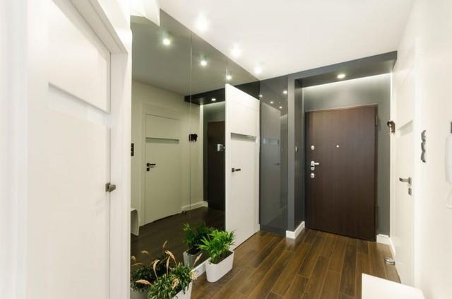 Nội thất căn hộ chung cư 43m2 được phối màu đẹp ngất ngây - Ảnh 1.