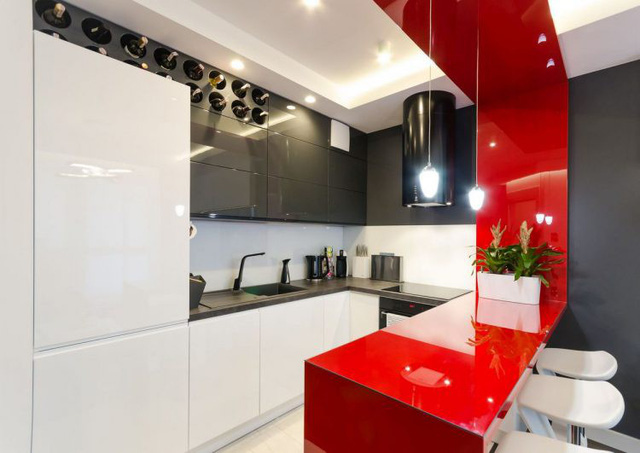 Nội thất căn hộ chung cư 43m2 được phối màu đẹp ngất ngây - Ảnh 3.