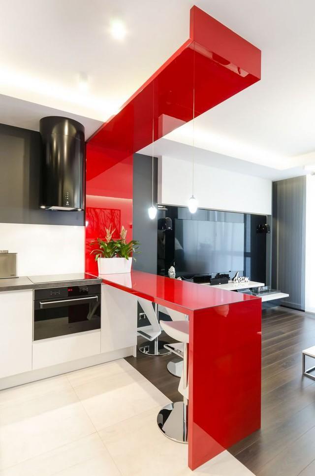 Nội thất căn hộ chung cư 43m2 được phối màu đẹp ngất ngây - Ảnh 4.