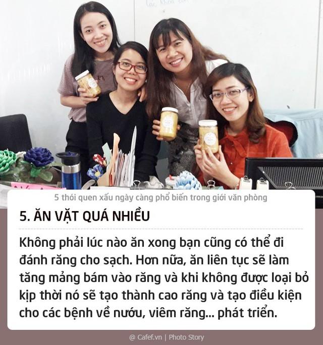 5 thói quen xấu ngày càng phổ biến trong giới văn phòng - Ảnh 5.