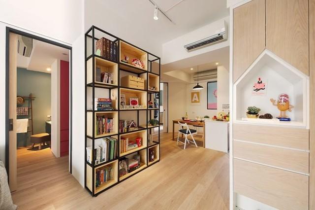Căn hộ 63 m2 có một phòng ngủ ấm cúng - Ảnh 4.