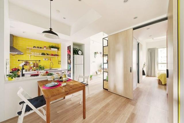 Căn hộ 63 m2 có một phòng ngủ ấm cúng - Ảnh 5.