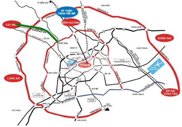 BĐS vùng đô thị TP.HCM mở rộng: Đồng Nai quay cuồng trong cơn sốt đất vì sân bay và cầu Cát Lái - Ảnh 1.