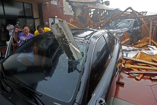 Siêu bão Michael đổ bộ vào Mỹ và Panama với sức tàn phá khủng khiếp - Ảnh 6.