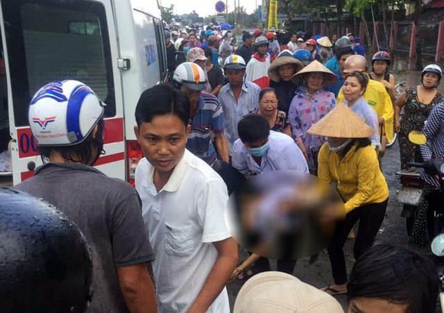 Hiện trường thương tâm vụ 6 học sinh bị điện giật, 2 em tử vong ở Long An - Ảnh 1.