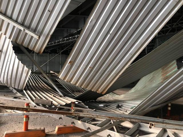 Hiện trường về vụ sập giàn giáo gần nóc hầm Thủ Thiêm, thông tin mới từ Sở Giao thông Vận tải TP.HCM - Ảnh 5.