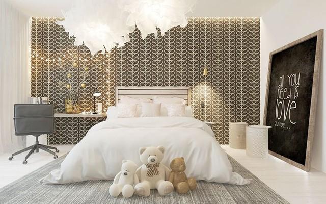 Bày biện, trang trí phòng ngủ đặc biệt khiến nhiều người mê mẩn - Ảnh 2.