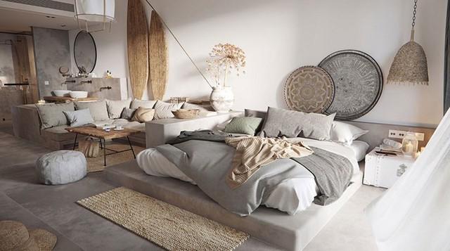Bày biện, trang trí phòng ngủ độc đáo khiến nhiều người mê mẩn - Ảnh 11.