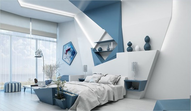 Bày biện, trang trí phòng ngủ độc đáo khiến nhiều người mê mẩn - Ảnh 14.