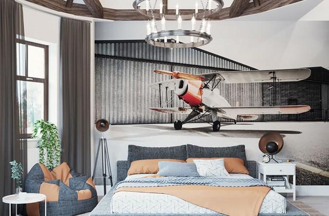 Bày biện, trang trí phòng ngủ độc đáo khiến nhiều người mê mẩn - Ảnh 4.
