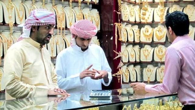 Choáng ngợp trước chợ vàng lớn nhất thế giới ở Dubai - Ảnh 7.