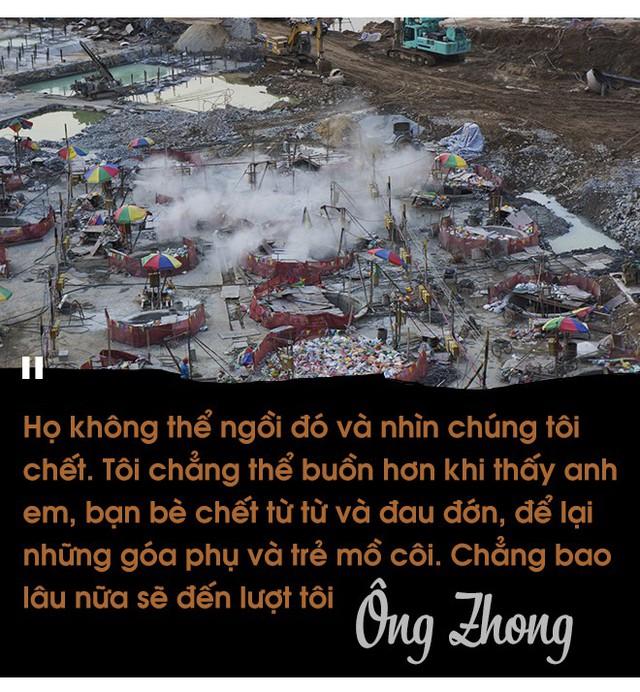 Bán mạng cho phép màu kinh tế ở Trung Quốc: Nạn nhân đấu tranh đòi tiền lo đám tang của chính mình - Ảnh 10.