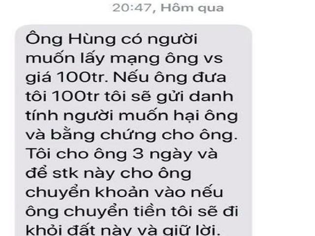 Tin nhắn đe dọa lãnh đạo VP đoàn ĐBQH là SIM rác từ TP.HCM - Ảnh 1.