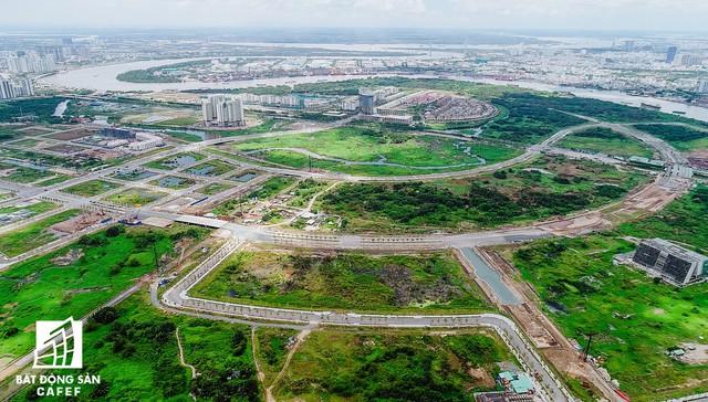 Toàn cảnh khu đất vàng Thủ Thiêm, dự định xây quảng trường hơn 2.000 tỷ có tên Chủ tịch Hồ Chí Minh - Ảnh 4.