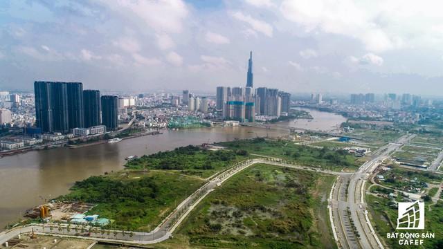 Toàn cảnh khu đất vàng Thủ Thiêm, dự định xây quảng trường hơn 2.000 tỷ có tên Chủ tịch Hồ Chí Minh - Ảnh 5.