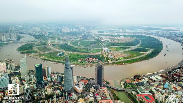 Toàn cảnh khu đất vàng Thủ Thiêm, dự định xây quảng trường hơn 2.000 tỷ có tên Chủ tịch Hồ Chí Minh - Ảnh 2.