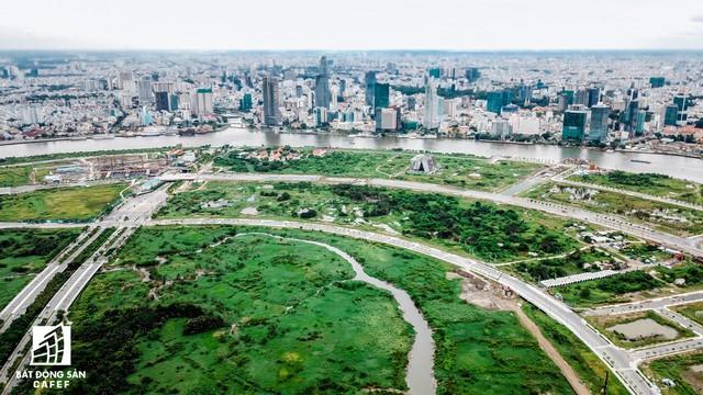 Toàn cảnh khu đất vàng Thủ Thiêm, dự định xây quảng trường hơn 2.000 tỷ có tên Chủ tịch Hồ Chí Minh - Ảnh 8.