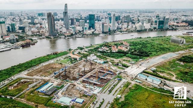 Toàn cảnh khu đất vàng Thủ Thiêm, dự định xây quảng trường hơn 2.000 tỷ có tên Chủ tịch Hồ Chí Minh - Ảnh 13.