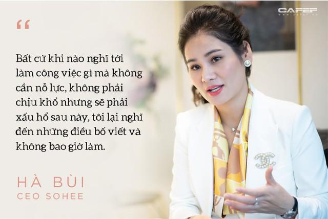 Doanh nhân Hà Bùi: Từ cô công nhân nhặt chỉ đến CEO thời trang Sohee - Ảnh 2.