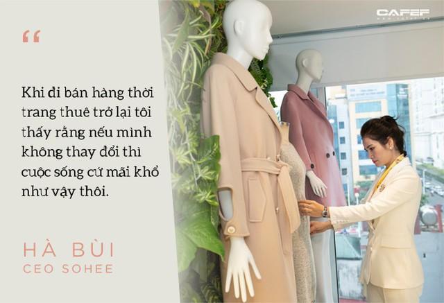 Doanh nhân Hà Bùi: Từ cô công nhân nhặt chỉ đến CEO thời trang Sohee - Ảnh 6.