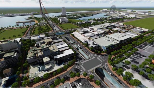 Đà Nẵng: Đầu tư 2 dự án hầm chui ở nút giao thông phía tây cầu Rồng - Ảnh 1.