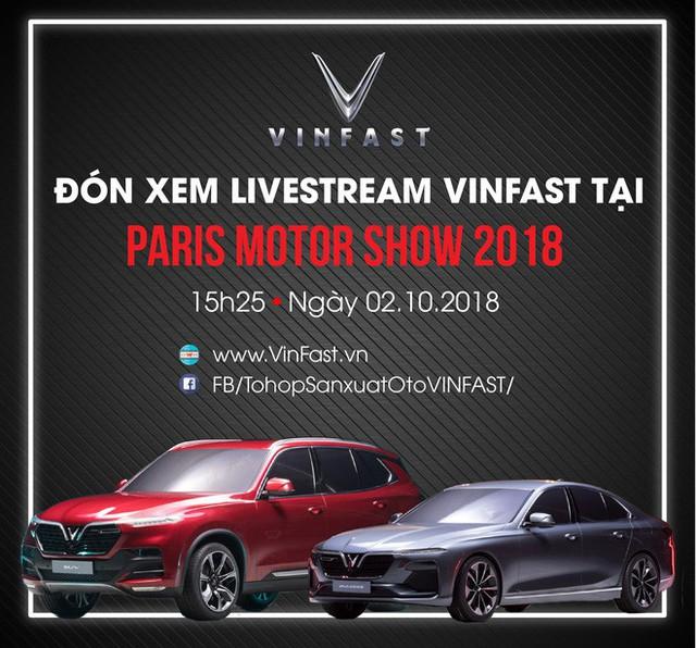 Đếm ngược lễ ra mắt xe hơi thương hiệu Việt tại Paris Motor Show 2018 - Ảnh 1.