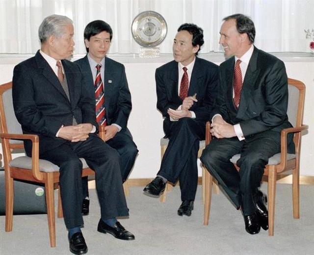 Những hoạt động nổi bật của nguyên Tổng Bí thư Đỗ Mười - Ảnh 11.