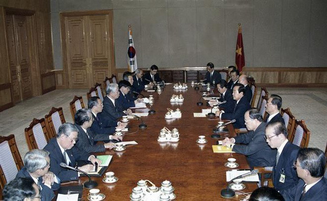 Những hoạt động nổi bật của nguyên Tổng Bí thư Đỗ Mười - Ảnh 10.