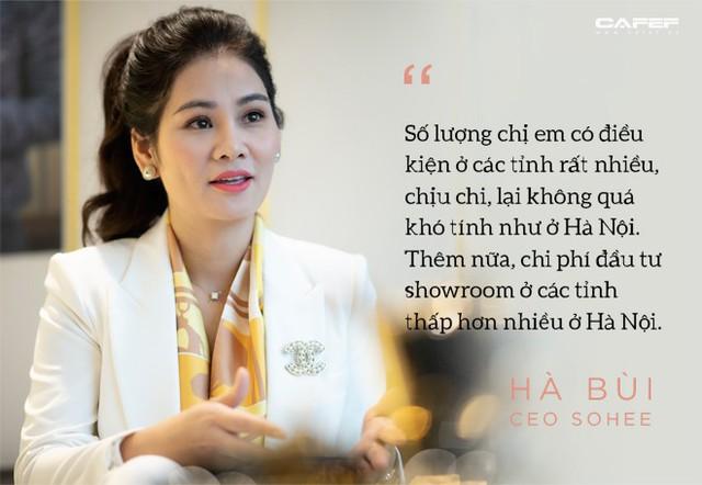 Doanh nhân Hà Bùi: Từ cô công nhân nhặt chỉ đến CEO thời trang Sohee - Ảnh 9.
