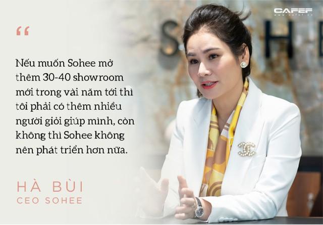 Doanh nhân Hà Bùi: Từ cô công nhân nhặt chỉ đến CEO thời trang Sohee - Ảnh 12.