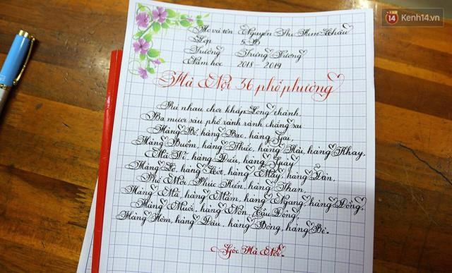 Gặp 18 cô giáo Quảng Trị viết chữ đẹp như vẽ tranh vừa gây sốt MXH: Học sinh trong trường chữ cũng siêu đẹp - Ảnh 14.